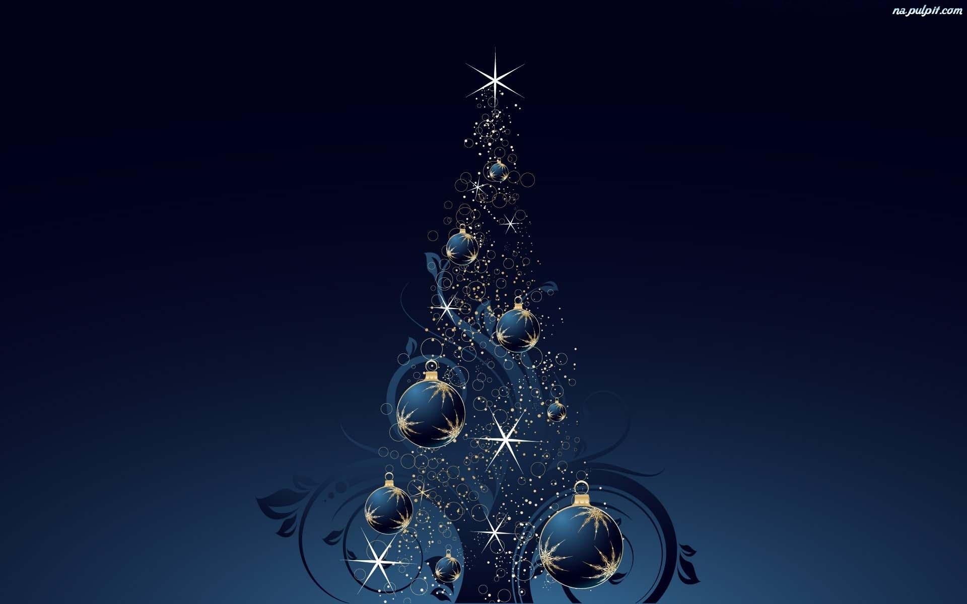 Blue Christmas Tree Forum Avatar: Choinka, Bombki Na Pulpit